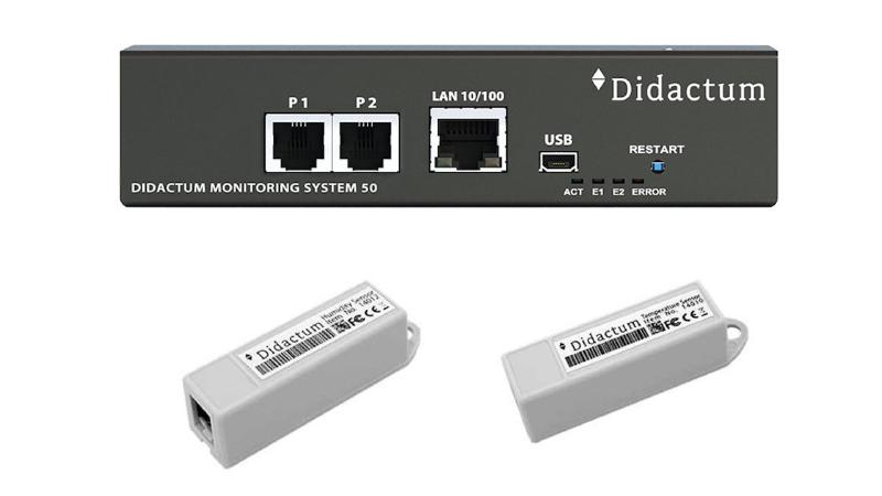 didactum - Monitoring System 50 Bundle Temperature and Humidity